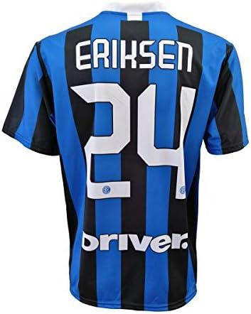 L.C. Sport Camiseta Inter Christian Eriksen 24 réplica autorizada para niño (tallas - Años 2 4 6 8 10 12) Adulto (S M L XL): Amazon.es: Ropa y accesorios