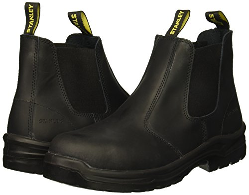 Stanley Men's Dredge Soft Toe Industrial & Construction Shoe, Black, 8.5 M US