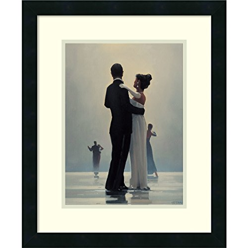 Dance Art Print - Framed Art Print 'Dance Me to the End of Love' by Jack Vettriano: Outer Size 18 x 22