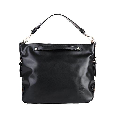 Barbie Retro Fashion Travel Commuter Pure Color Pattern Handbag&Cross-body Bag Shoulder Bag#BBFB042 (standard, (Purs And Handbag Patterns)