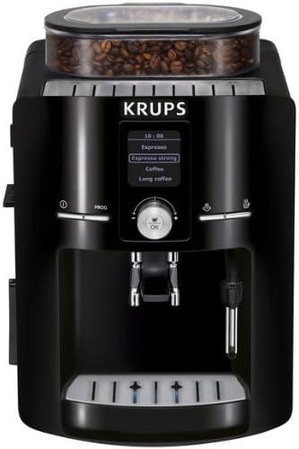 Krups EA8250 - Máquina espresso, automática, de café molido, 1450 W, 1.8 L, negro: Amazon.es: Hogar