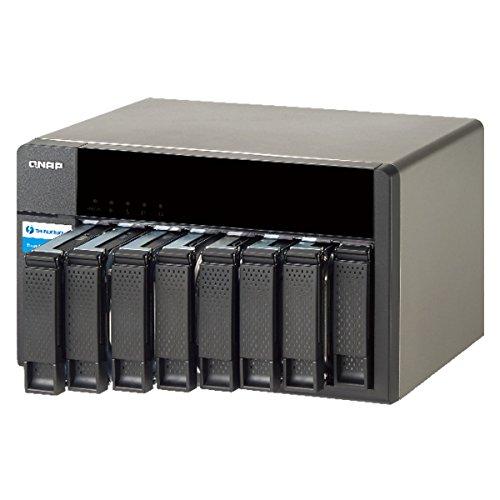 Qnap QNAP TX-800P 8-Bay Thunderbolt 2 Storage Expansion Enclosure, Designed for TVS-871T Series (TX-800P-US) by QNAP (Image #1)