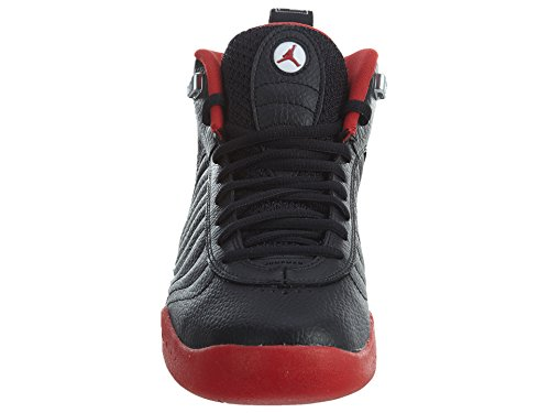 Jordan Nike Männer Jumpman Pro Basketballschuh Schwarz / Varsity Rot-Weiß