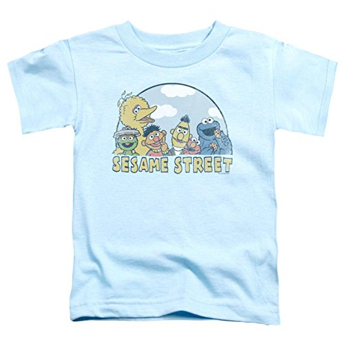 Sesame Street Classic TV Show Puppet Cast Little Boys Toddler T-Shirt Tee