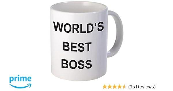 amazon com world s best boss coffee mug kitchen dining
