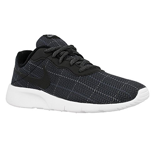 Nike Kids Tanjun SE (GS) Black/Black-Cool Grey-White 859613-001 (6.5 Big Kid M, Black/Black-Cool Grey-White) by NIKE