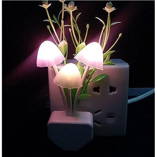 beautiful lighting. Drhob 1PCS Creative Fantastic Romantic Mushroom Light Sense Control Lamp Beautiful Gift Lighting A