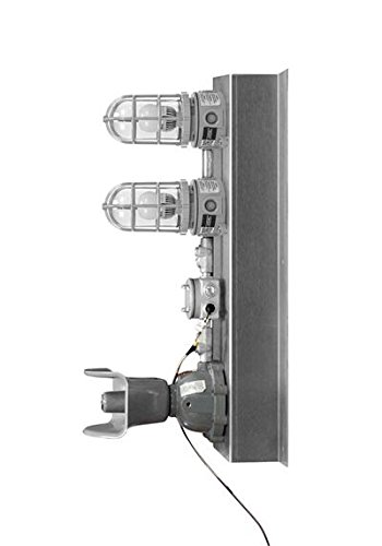Hazardous Location Signal Light w/ Audible Alarm - Class 1 Div 2 - Red & Amber - Steady or Strobe(-2