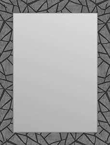 espejo moldura 70x19 plana: gaudí gris 50x70