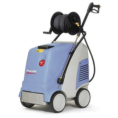 KranzleUSA Therm C 11-130 Hot Water Electric Industrial Pressure Washer with Auto On-Off and 50' Wire Braided Hose on Hose Reel, 2000 PSI, 2.9 GPM, 220V, 15A, Single Phase by KranzleUSA