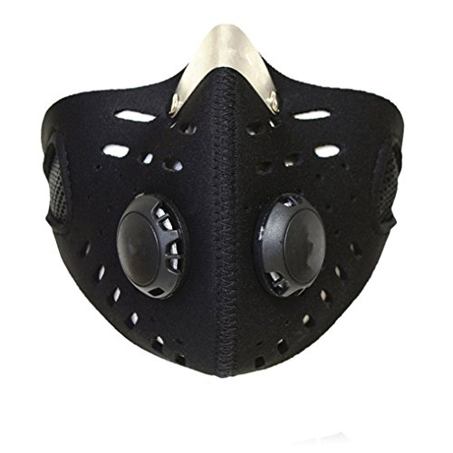Qiorange Outdoor Sports Mask Filter Air Pollutant for Bicycle Riding Traveling Open-air Activities Protective Universal (Activity Carbon Filter compare prices)