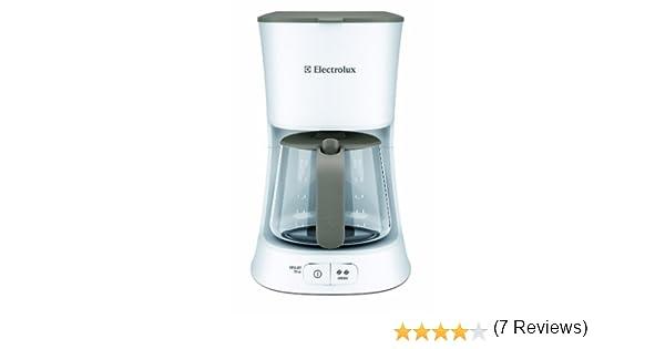 Electrolux EKF5110 - Cafetera de goteo, 1100 W, 10-15 tazas, color blanco: Amazon.es: Grandes electrodomésticos