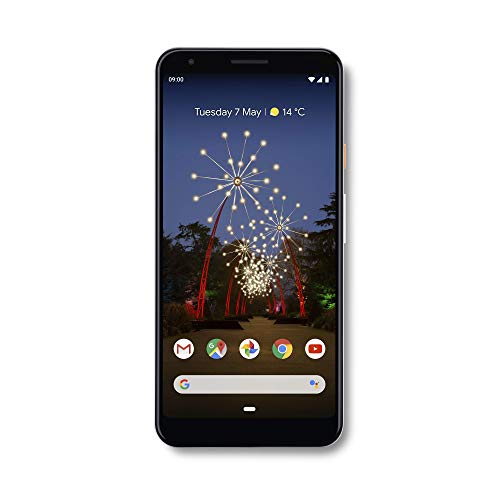 "Google Pixel 3A XL (2019) G020B 64GB (6"" inch, GSM, 4G/LTE, CDMA) Factory Unlocked Smartphone - International Version (Clearly White)"