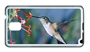 Sale grove Samsung N9000 covers Hummingbird TPU White for Samsung Note 3/Samsung N9000