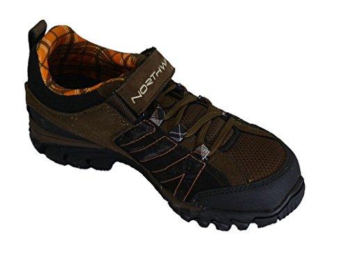 Northwave - Zapatillas de ciclismo de Material Sintético para mujer Marrón marrón 38 marrón/naranja