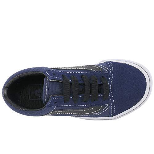 spring black 2018 Vans Old Medieval Skool Blue Youth UqPwS4Ft