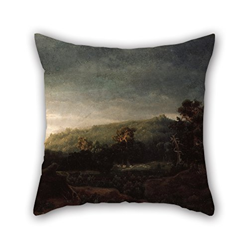 [oil painting Lars Hertervig - A Forest cushion covers 16 x 16 inches / 40 by 40 cm gift or decor for car,bedroom,girls,boys,teens boys,gril friend - each] (Hipster Disney Princesses Costumes)
