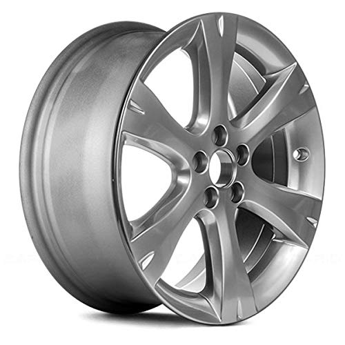 - Replacement Recon 17X7 Alloy Wheel Bright Smoked Hypersilver Full Face Painted Fits Subaru Impreza