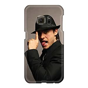 Samsung Galaxy S6 Poq19330ihmA Customized High-definition 30 Seconds To Mars Band 3STM Skin Shock Absorbent Hard Phone Case -AlainTanielian