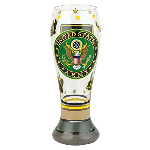 Santa Barbara Design Studio Lolita Gotta Love Beer Pilsner Glass, Army