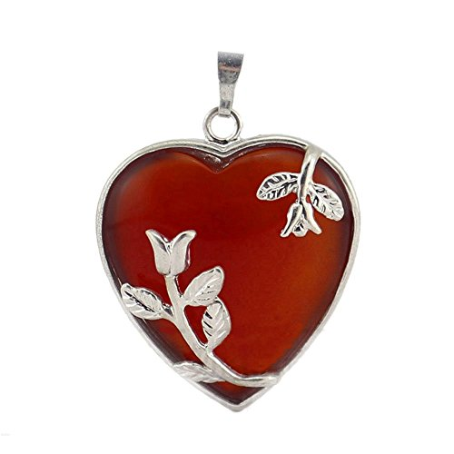 MIKINI Gemstone Healing Crystal Necklace