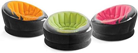 Intex Empire silla inflable, (los colores pueden variar), 1 paquete