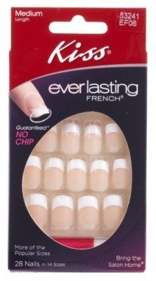 Kiss Ef06 Frnch Ultd French Nail Kit (Pack of 3) by Kiss by Kiss
