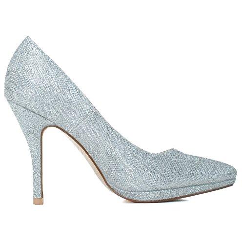Pailletten Schuhe High spitze heeled Temperament glitter Qingchunhuangtang schuhe Schuhe Schuhe Hochzeit Damenmode Schuhe gxTnw