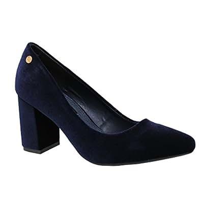 XTI 030467, Zapatos de Tacón con Punta Cerrada para Mujer, Negro (Black), 39 EU
