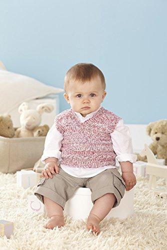 Sirdar Snuggly Peekaboo DK Sweater and Tank Top Knitting Pattern 4457-Easy (Sirdar Knit Pattern)
