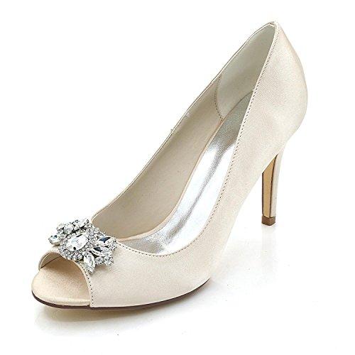 L@YC Damen High Heels / Komfort Sandalen Outdoor / Hochzeit / Büro & Karriere / Kleider Champagne