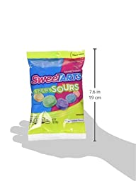 SweeTARTS Chewy Sours Peg Bag, 6 Ounce (Pack of 12)