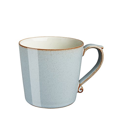 (Denby Heritage Terrace Mug, Large, Gray)