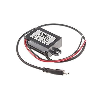 SMAKN DC/DC Converter 12V/24V/36V/48V Step Down to 5v 3A(MAX) Power Supply Module MICRO USB OUTPUT: Electronics