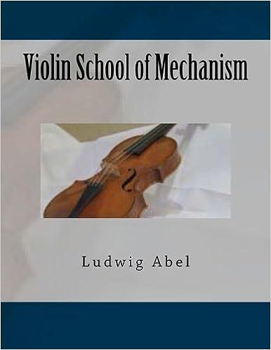 Téléchargement de livres audio sur iphone à partir d'itunes Violin School of Mechanism (German Edition) in French FB2 by Paul M Fleury 1502700417
