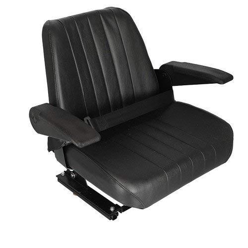 Seat Assembly Vinyl Black Kubota M5700 M9000 M8200 M4900 M6800 M4030 M4700 M5400 M5030 3A011-85010 by All States Ag Parts