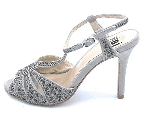 Bride Talon 36 Daim Chaussure Grise Sandale Taille 8 En Strass Et Avec Bibilou 625z00 De Cm wYqAZYz
