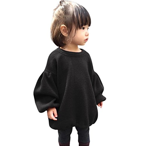 7c2f5b038c95 GBSELL Toddler Baby Kids Girls Lantern Sleeve Shirt Tops Outfits ...