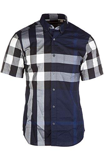 Burberry Men 39 S Short Sleeve Shirt T Shirt Fredpkt4636b Blu
