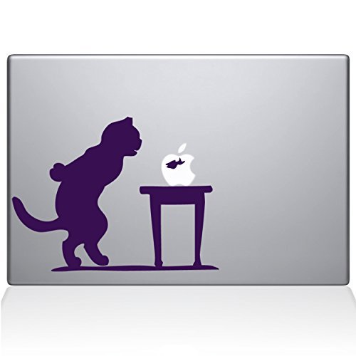 2019年春の The Vinyl Decal Guru 1035-MAC-15P-LAV Purple Cat and Fish Bowl Vinyl Decal Sticker 15 Macbook Pro (2015 & older) Purple [並行輸入品] B078FBP87V, ニノミヤマチ:d870f31b --- a0267596.xsph.ru
