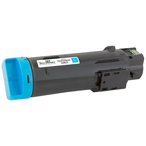 Speedy Inks - Compatible Cyan Toner Cartridge P3HJK for Dell H625/H825 Laser Printers for use in Dell H625cdw,Dell H825cdw,Dell S2825cdn