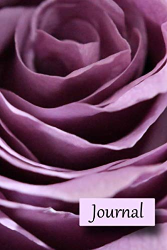 Journal: A Purple Rose Notebook for journal writing and creativity