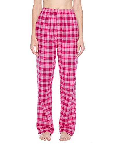 Pants Flannel Gridiron - Robinson Apparel 9985 Gridiron Flannel Pants. - Pink/Fuschia - XL