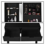 LYNSLIM Vanity Table Set with Mirror and Makeup