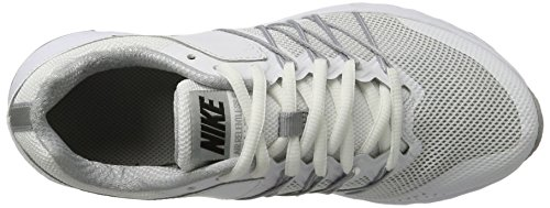 Nike Air Relentless 6 - Zapatillas de Entrenamiento Mujer Blanco (White / Black / Wolf Grey)