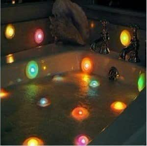 2pcs Color Changing LED Spa Lights Bath Hot Tub Pool