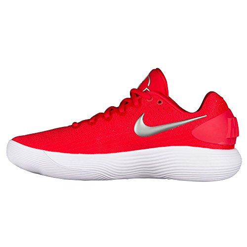Nike Mens React Hyperdunk 2017 Low Basketball Shoes Us) Rosso
