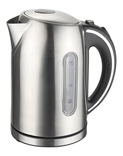 Mega Chef MGKTL-1739 Stainless Steel Electric Tea Kettle,...