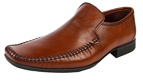 homme Tan Clarks 20354180 20354180 Leather Chaussures Marron basses Clarks Chaussures basses homme nw1SqR4p