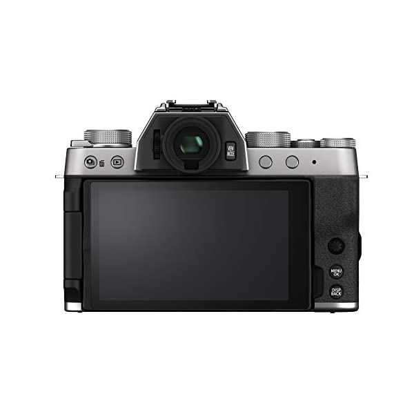 "RetinaPix Fujifilm X-T200 24.2 MP Mirrorless Camera with XC 15-45 mm Lens (APS-C Sensor, Electronic Viewfinder, 3.5"" Vari-Angle Touchscreen, Face/Eye AF, 4K Video Vlogging, Film Simulations) - Silver"